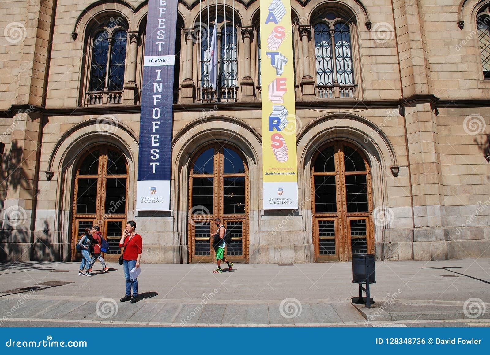 Barcelona uniwersytet, Catalonia