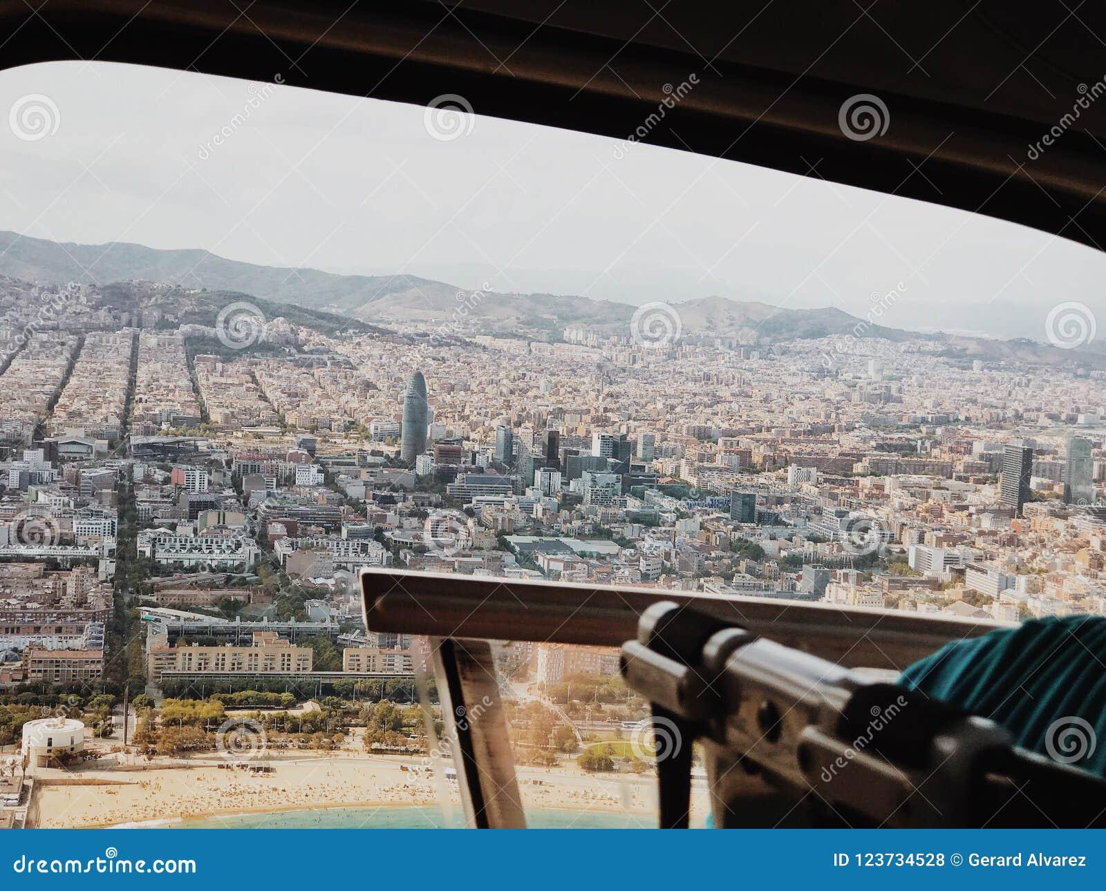 Barcelone du ciel
