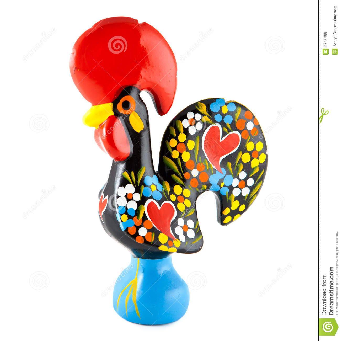 Barcelos Rooster. Portugal