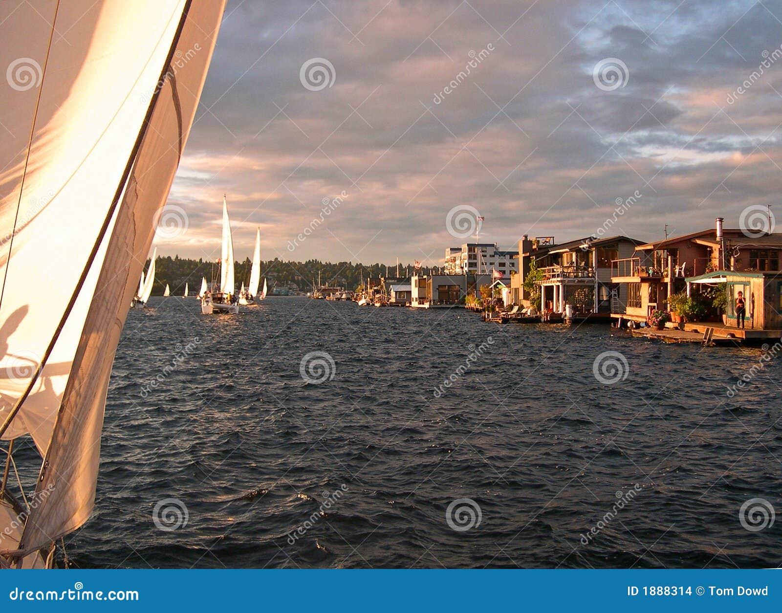 Barche della Camera del sindacato del lago