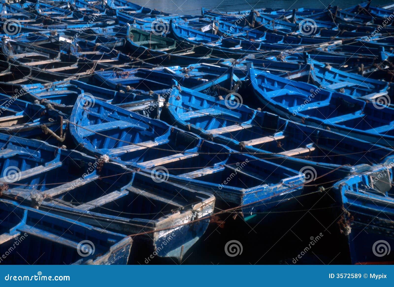 Barche di Essaouira, Marocco