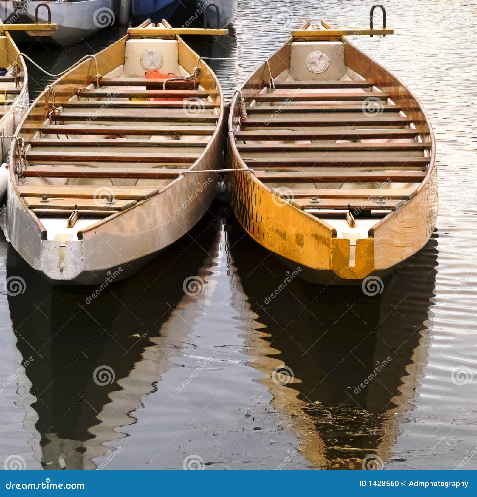 Barche Di Legno Fotografia Stock - Immagine: 1428560
