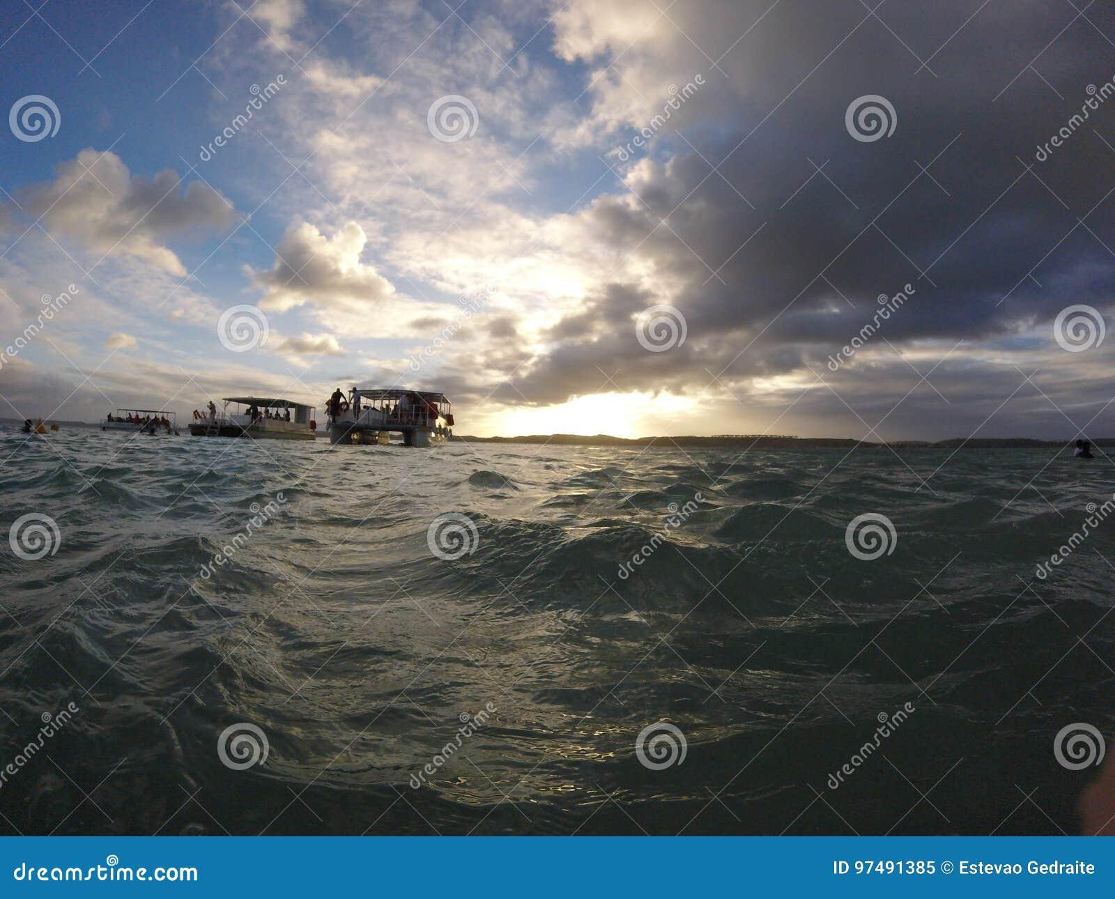 Barche in Maragogi