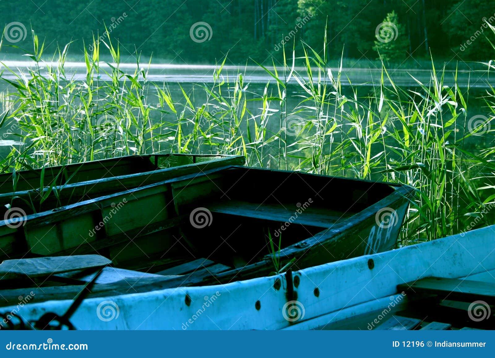 Barche nel lago