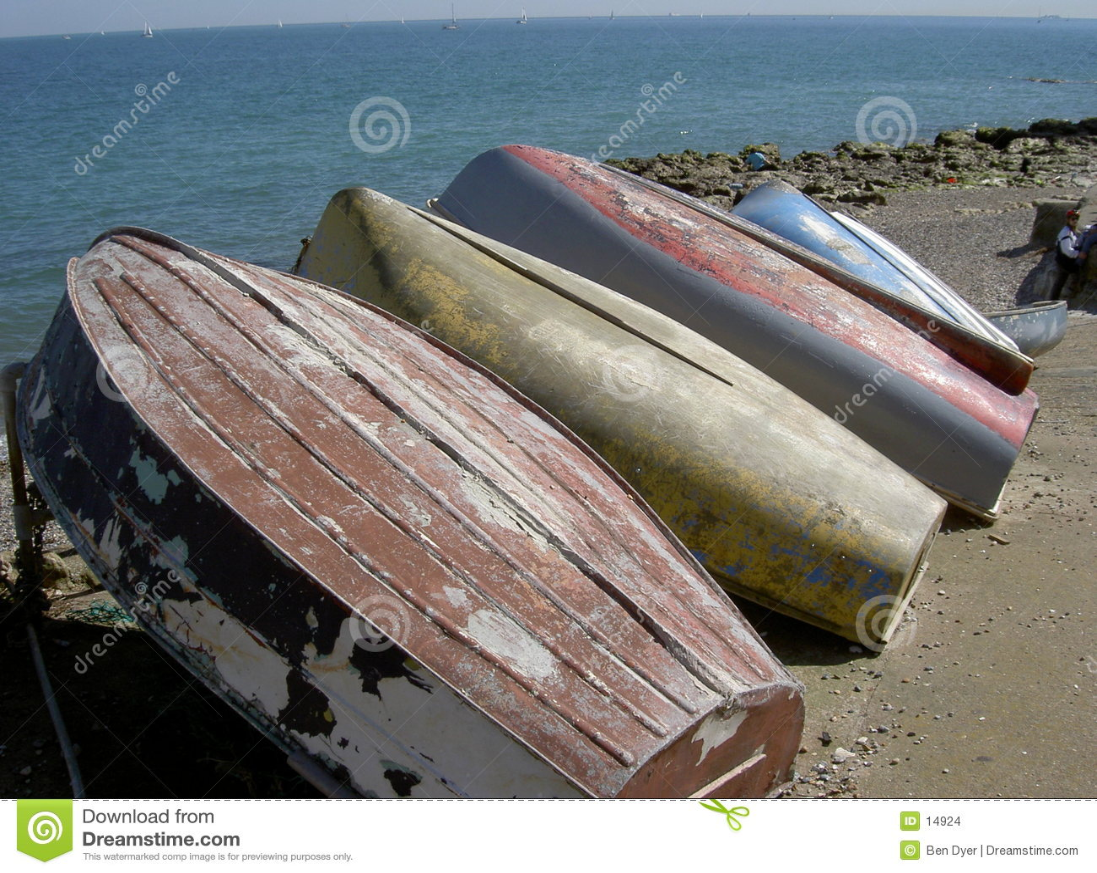 Barche rovesciate