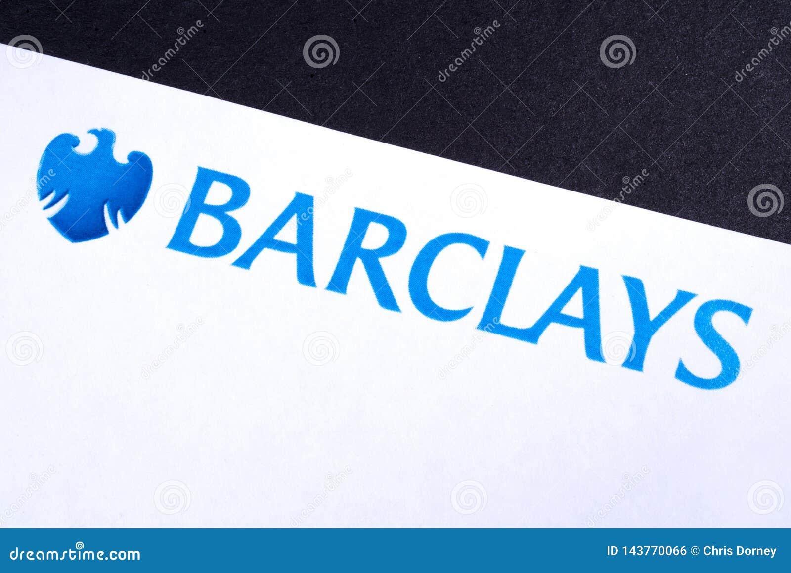Barclays Bank Logo editorial photo  Image of cash, financial