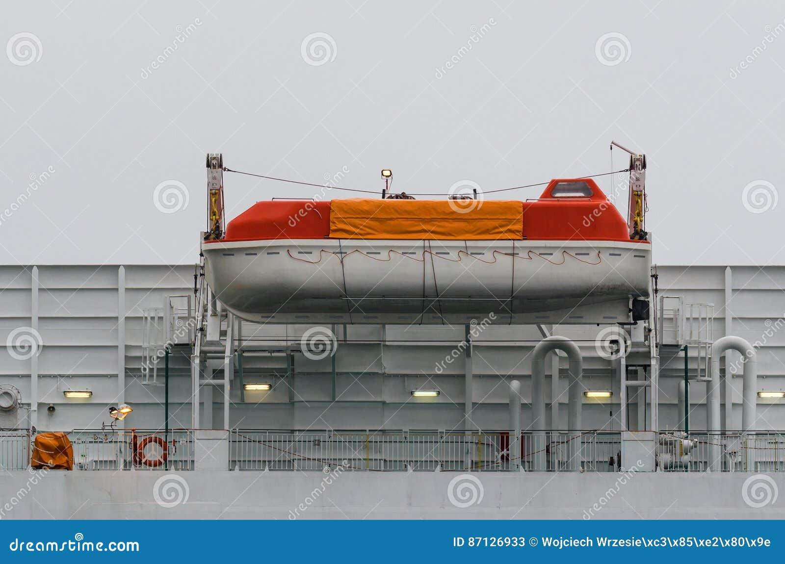 Barco da emergência
