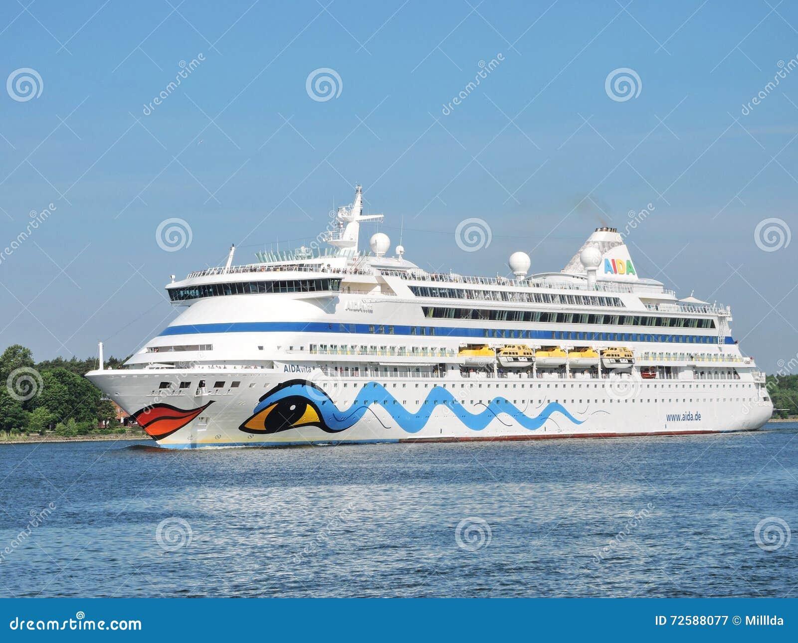 Barco de cruceros del vita de AIDA
