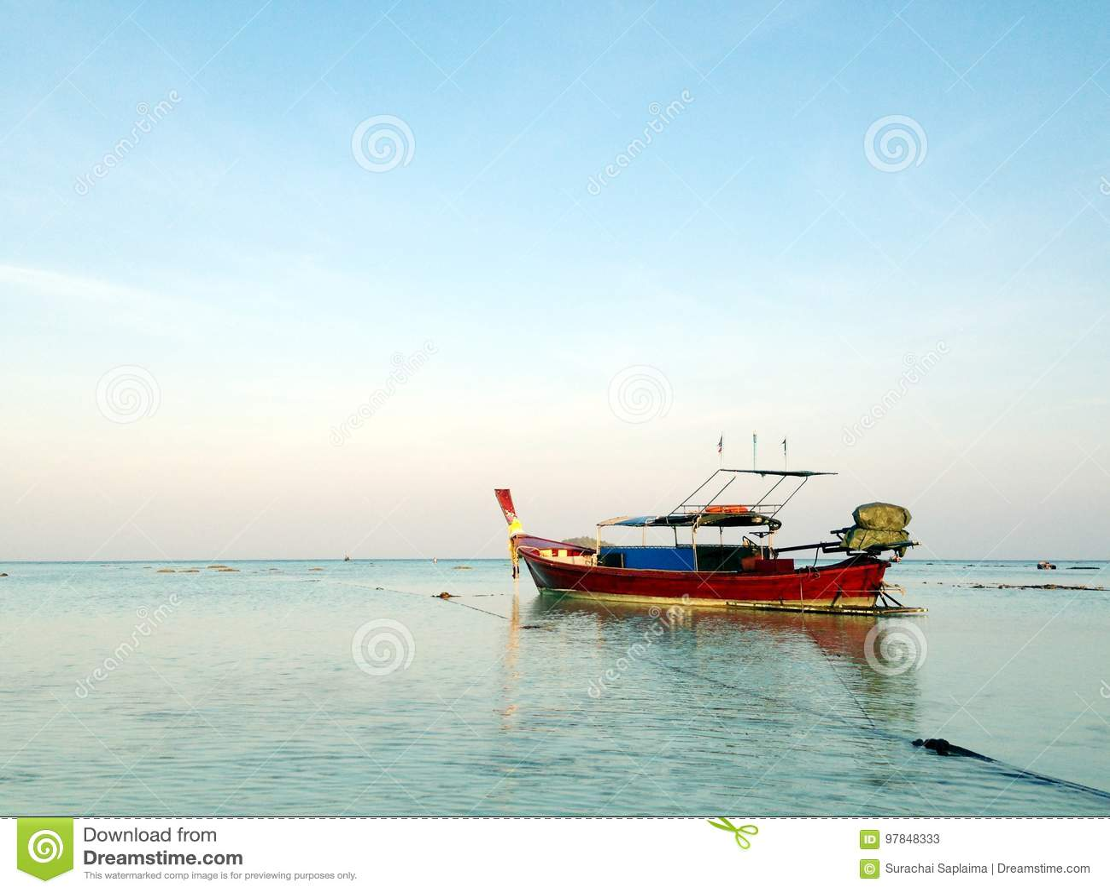 Barco de la cola larga