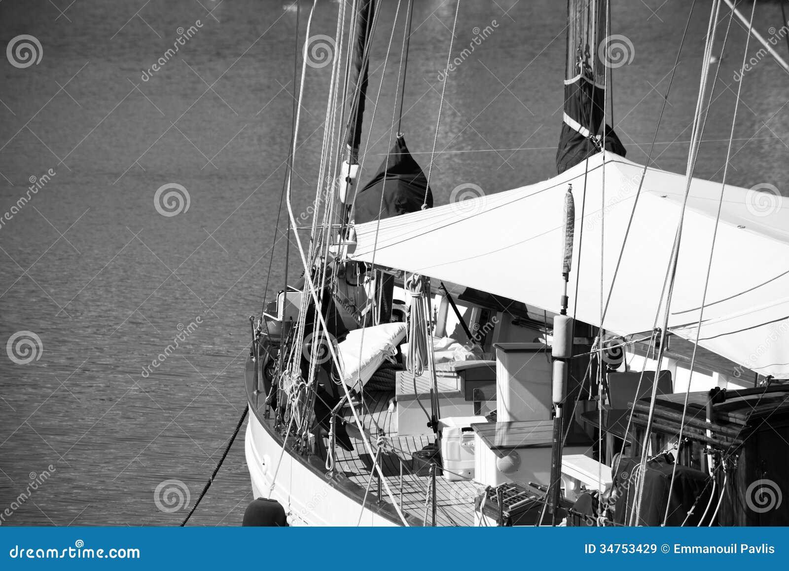 Barco de navigação clássico