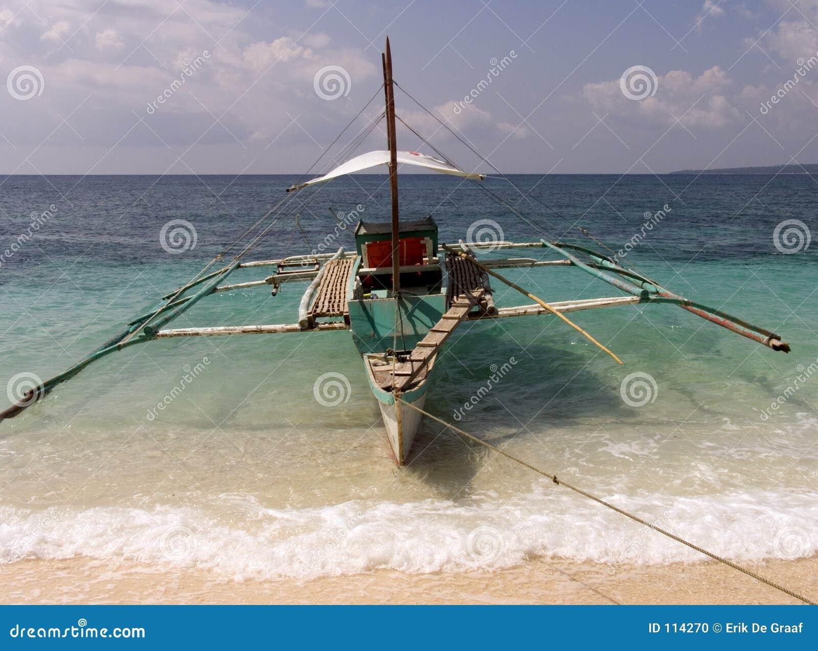 Barco de pesca filipino 1