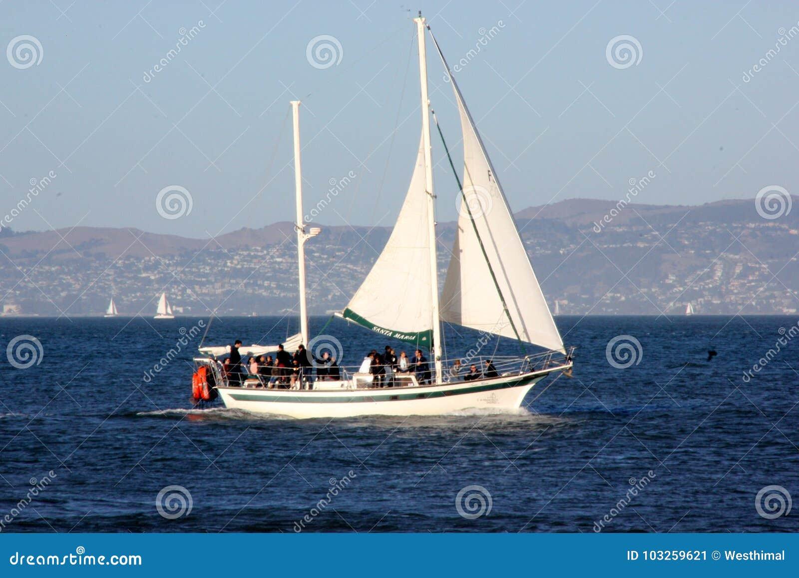 Barco de Santa Maria Sailing, um iate de San Francisco Sailing Company