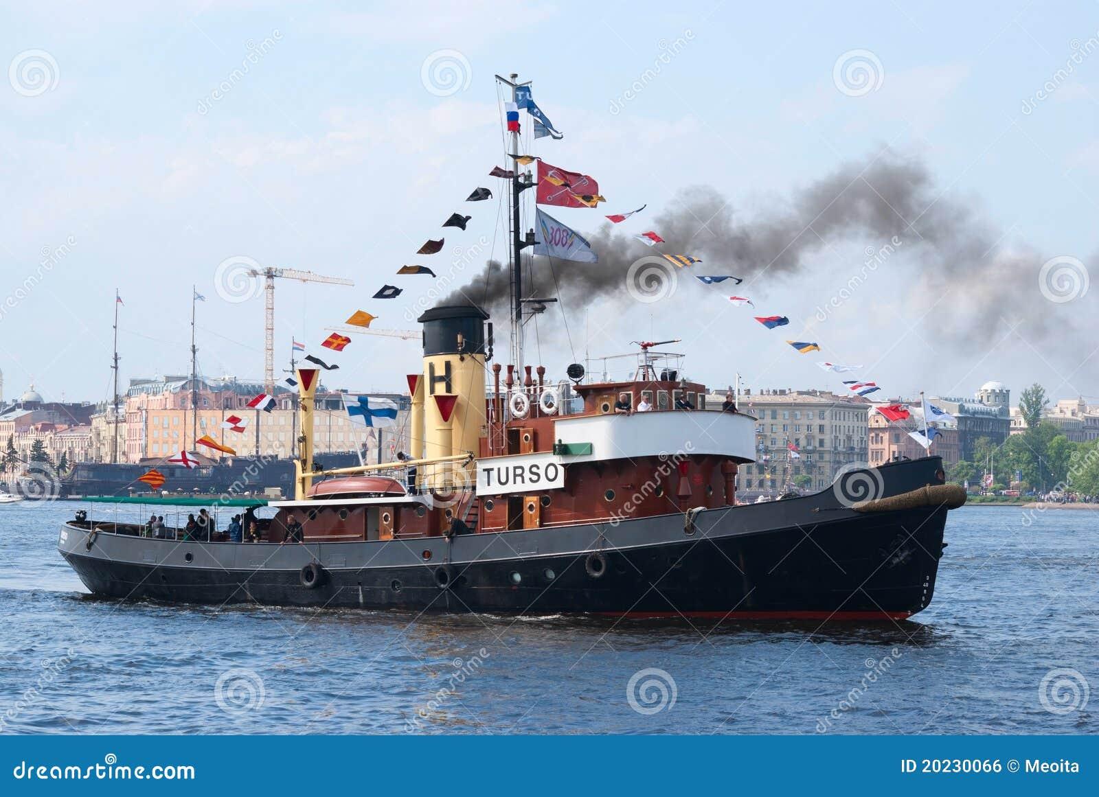 Barco de la vendimia del volante