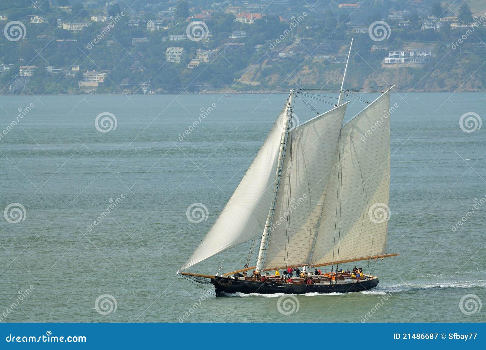 Barco de vela clássico