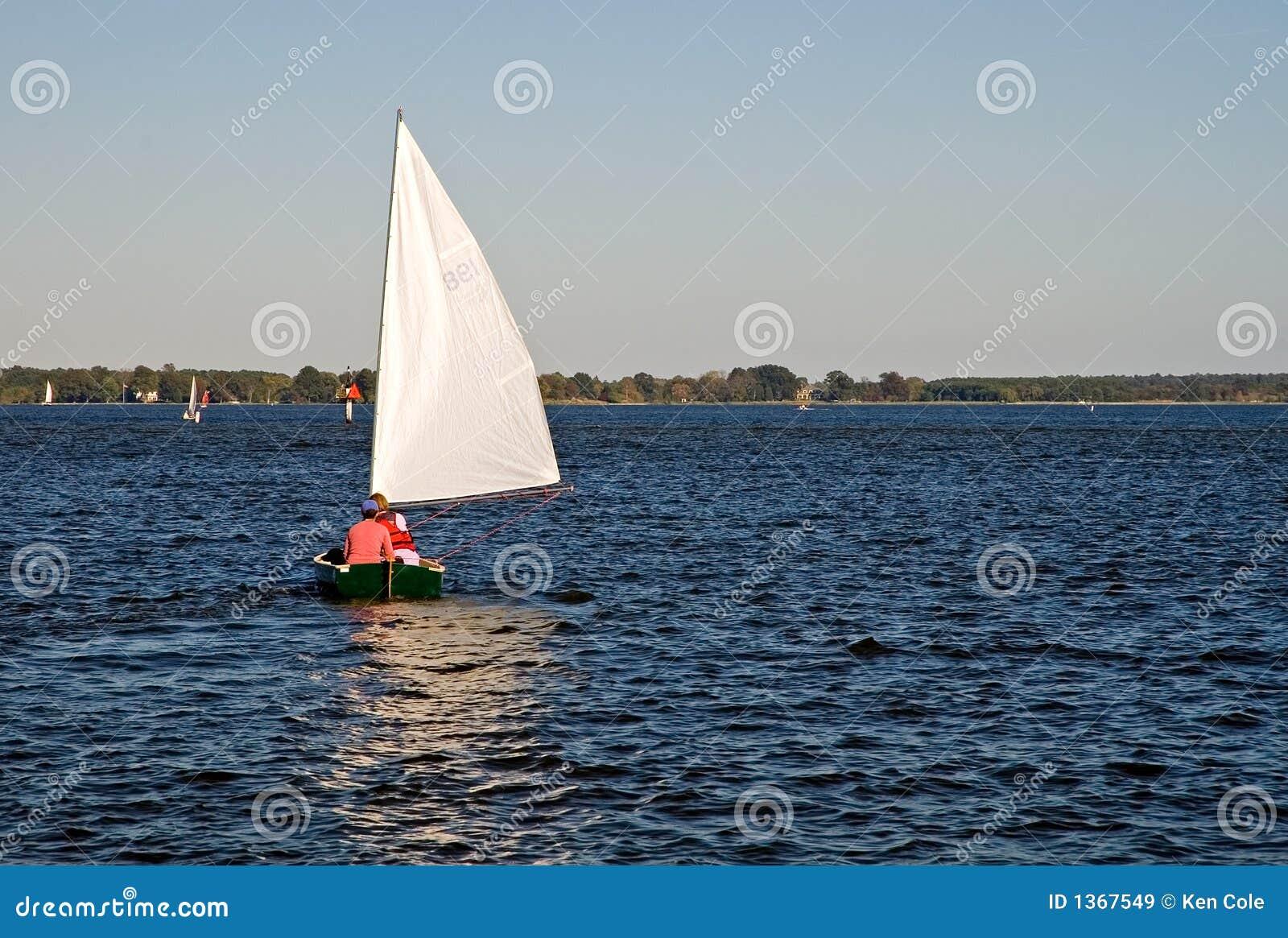 Barco de vela no louro de Chesapeake