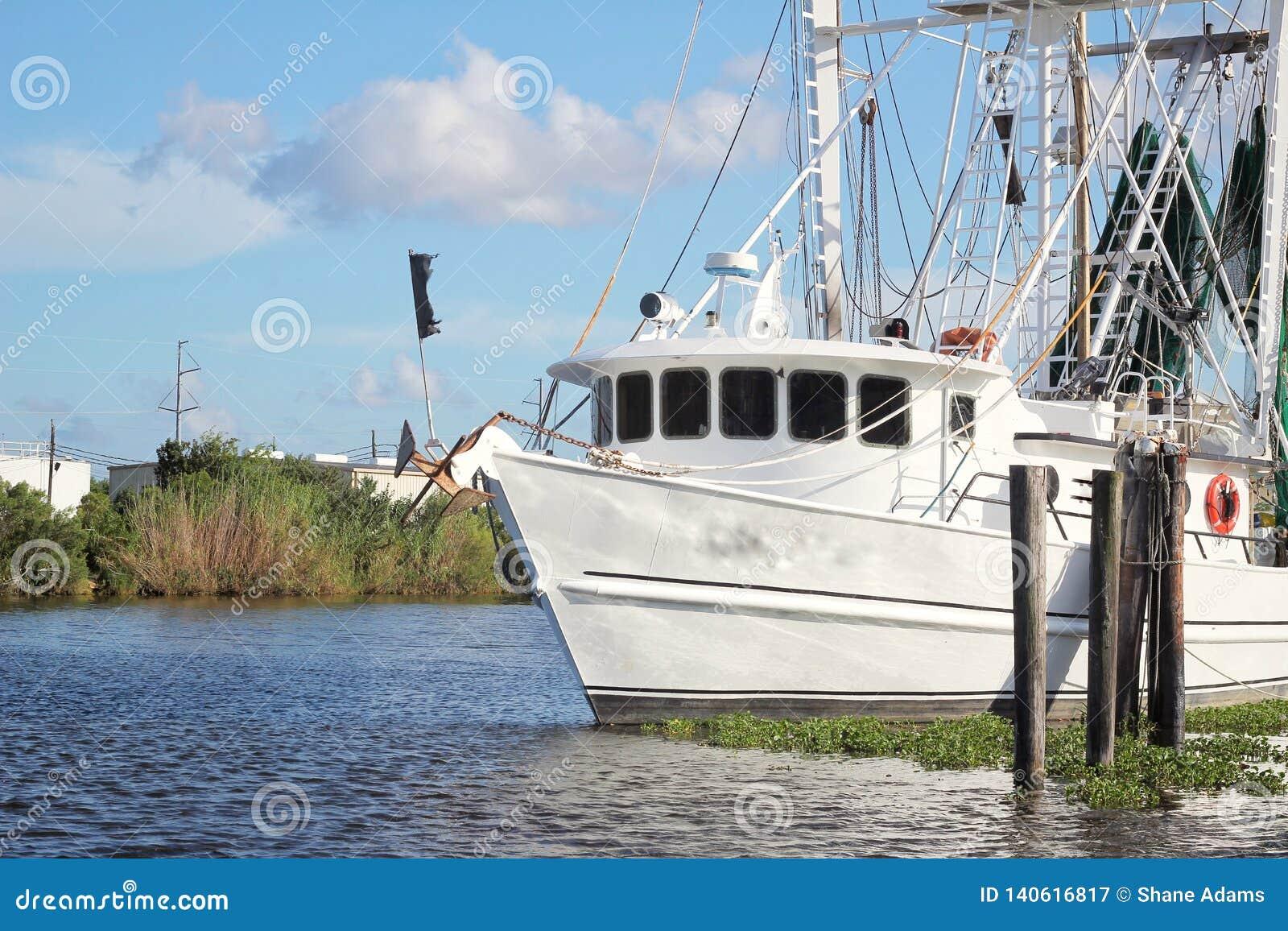 Barco del camar?n de Luisiana