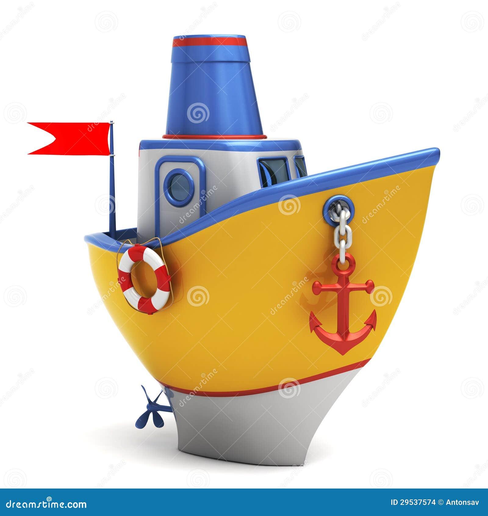 Barco do brinquedo