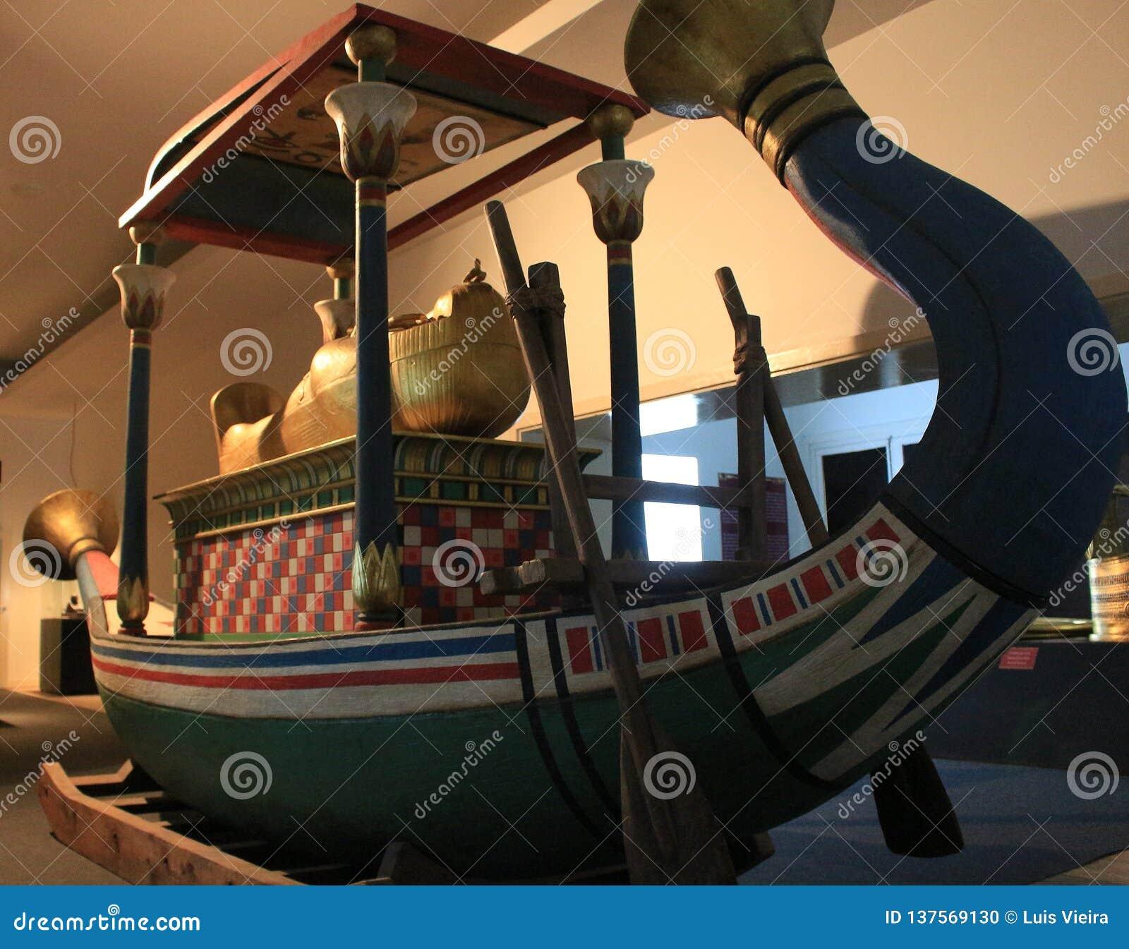 Barco egípcio antigo