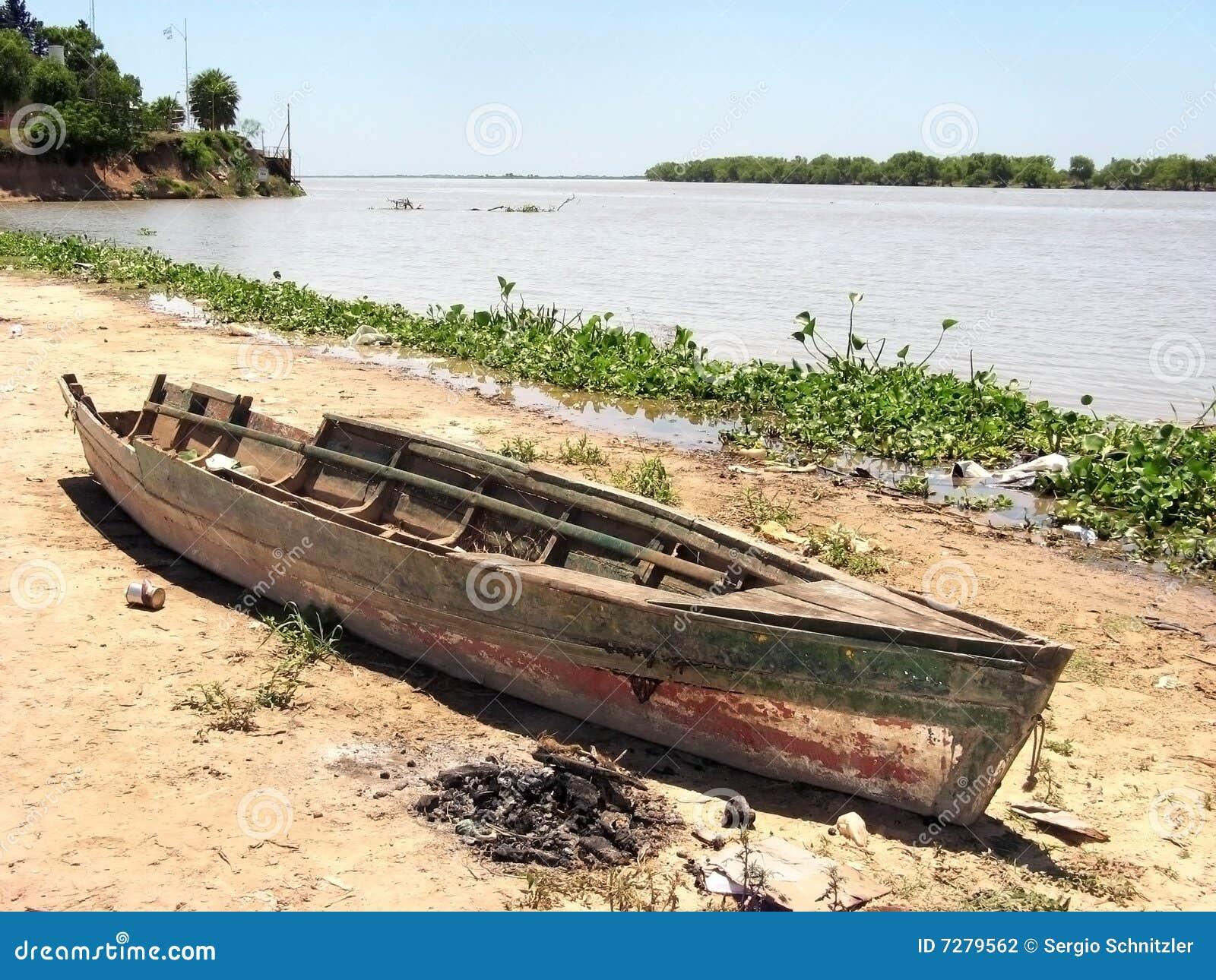 Barco quebrado