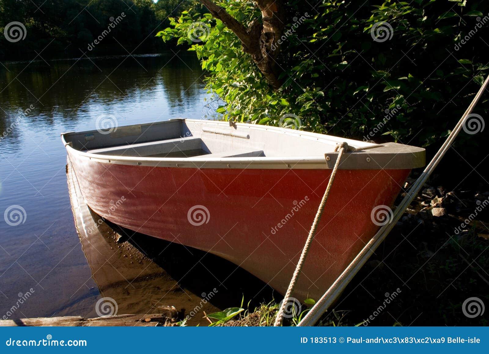 Barco rojo
