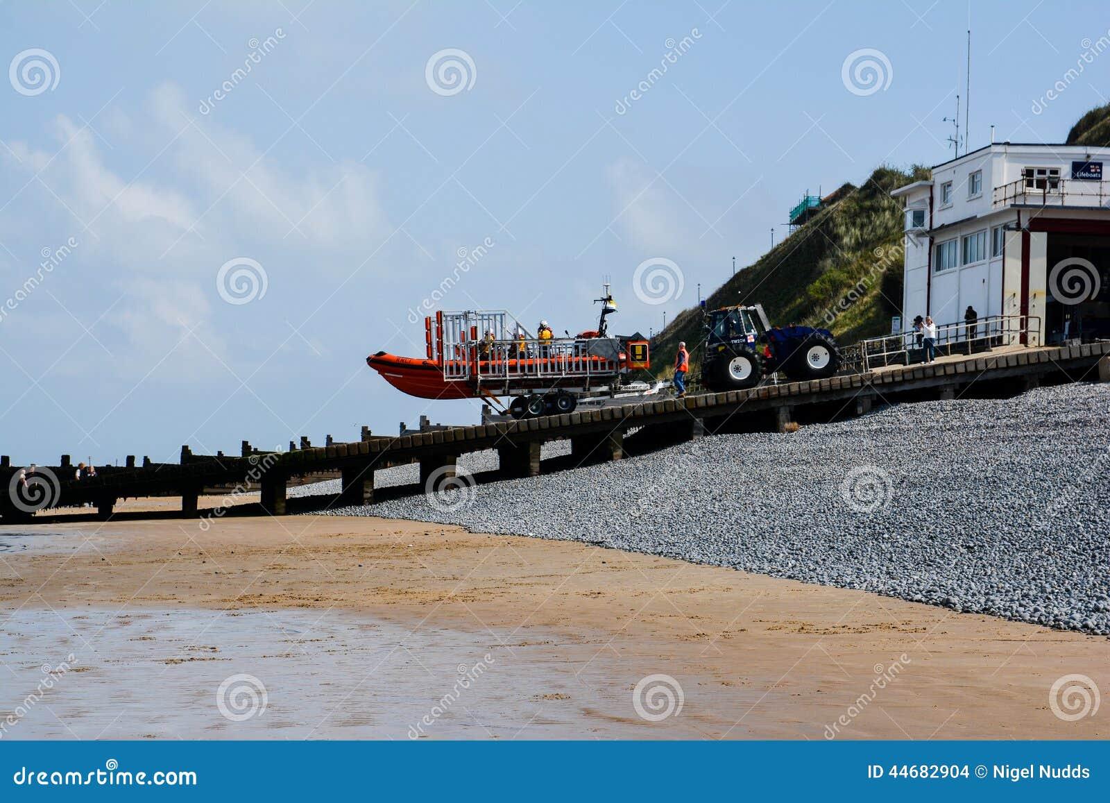 Barco salva-vidas de Sheringham