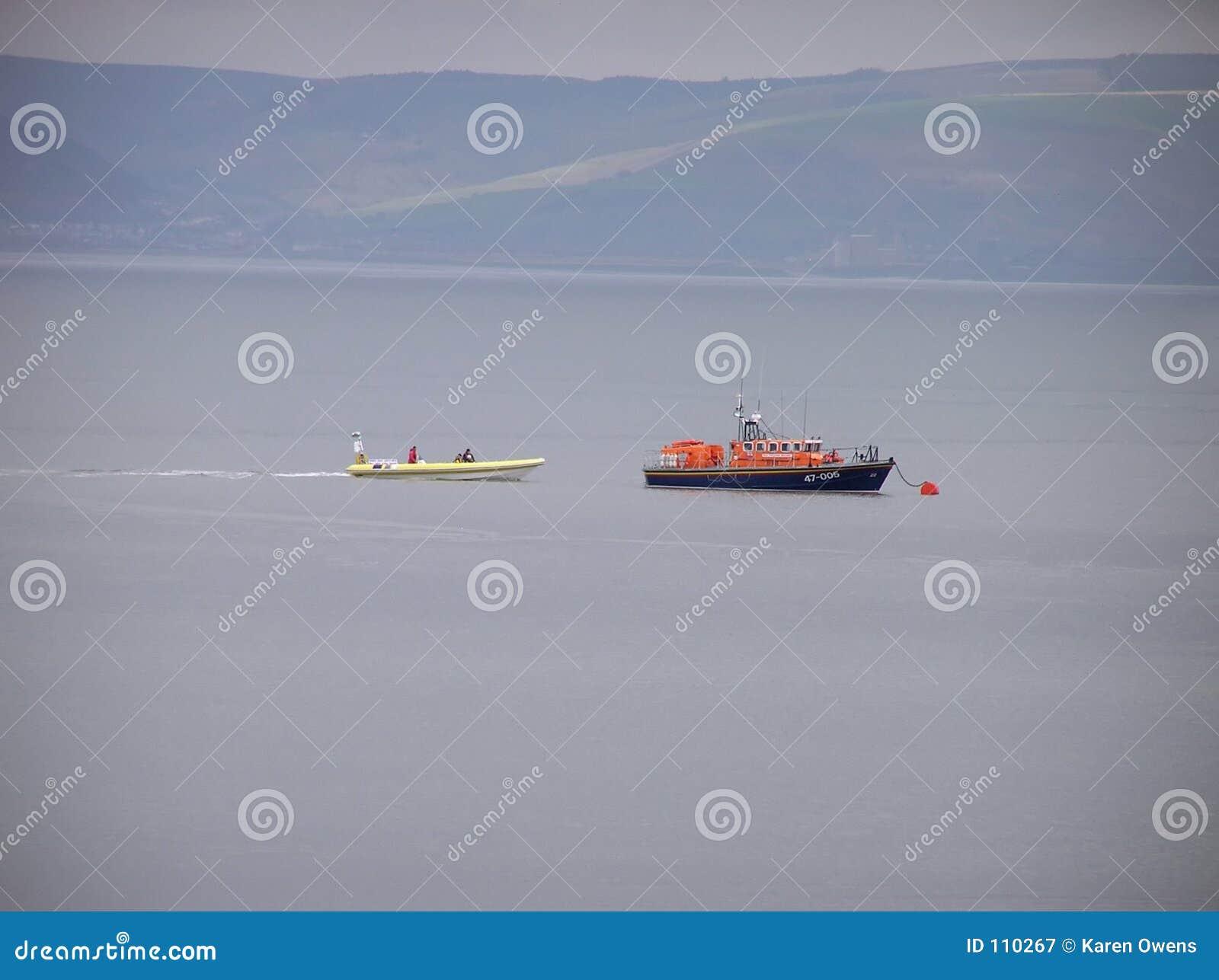 Barco salva-vidas dos Mumbles