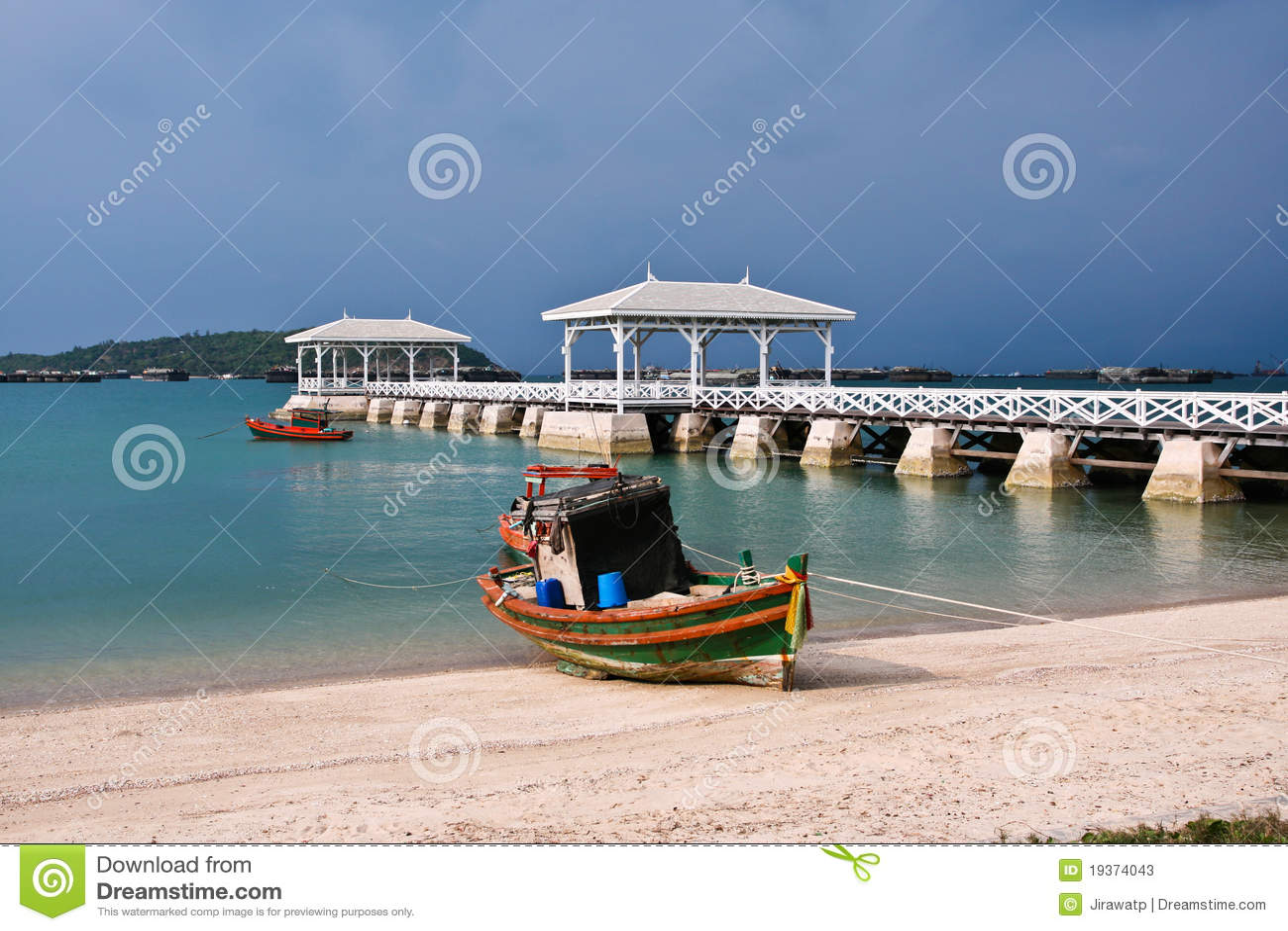 Barco Tailândia