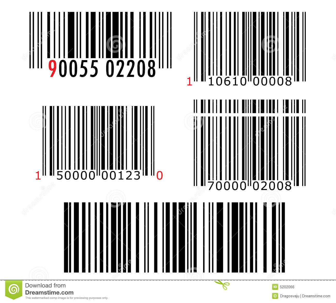 Barcode stock vector  Illustration of character, illustrate