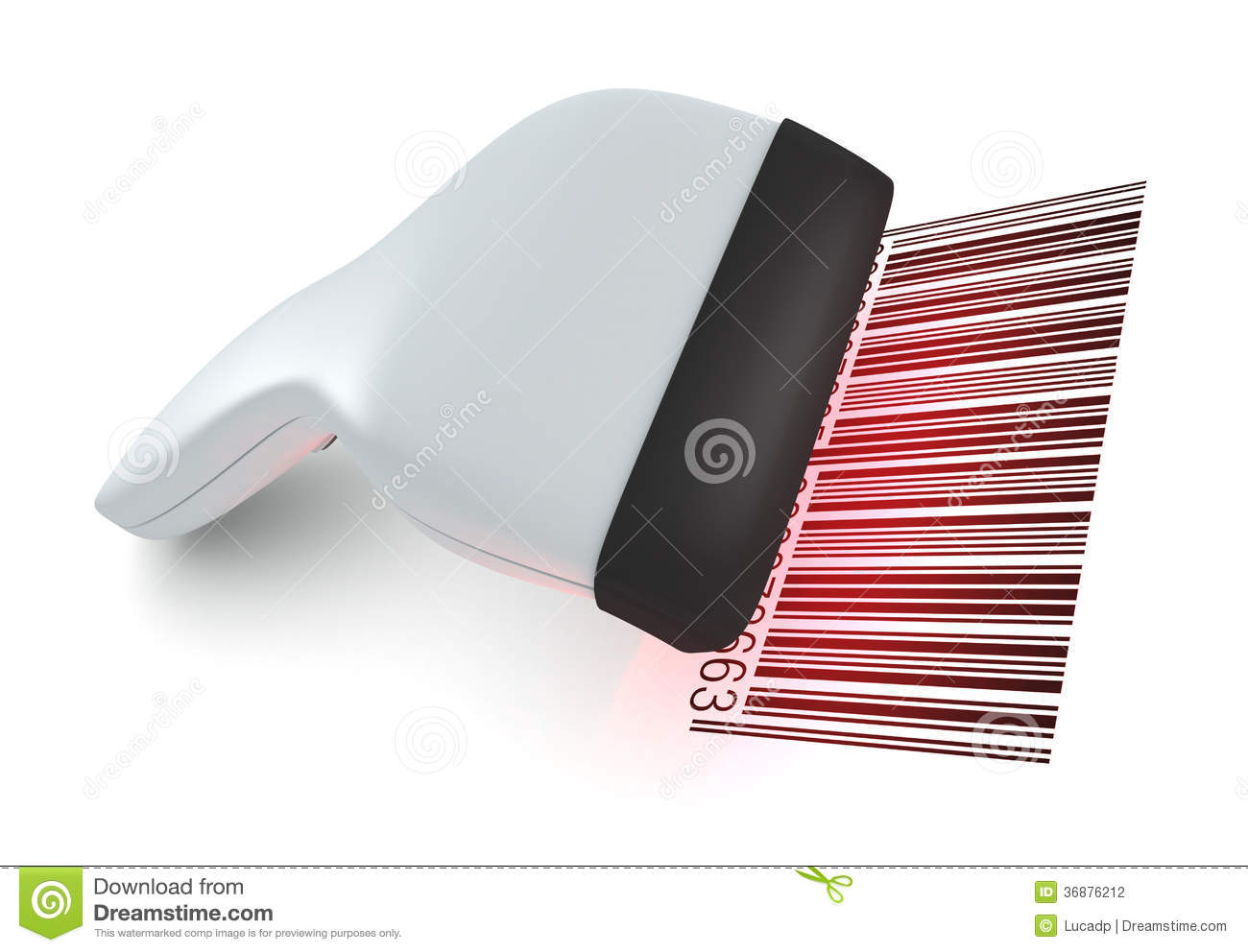 Barcode Reader Stock Photography Image 36876212