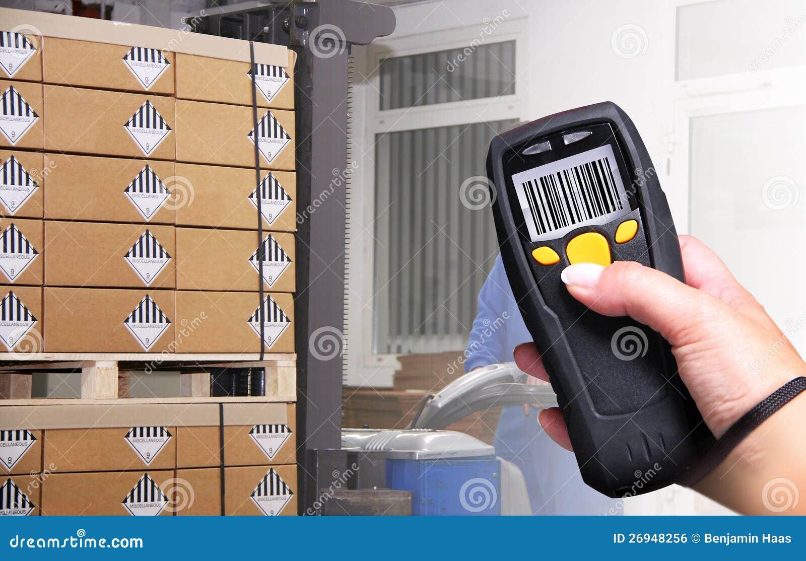 Barcode Scanner Royalty Free Stock Image Image 26948256