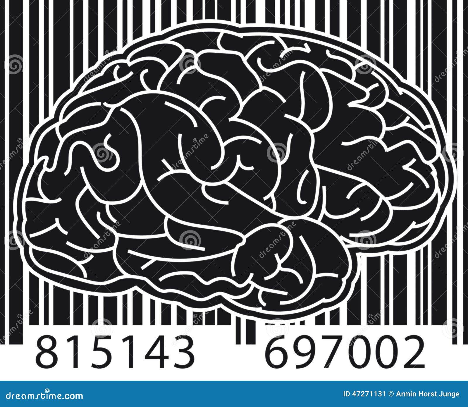 Barcodehjärna