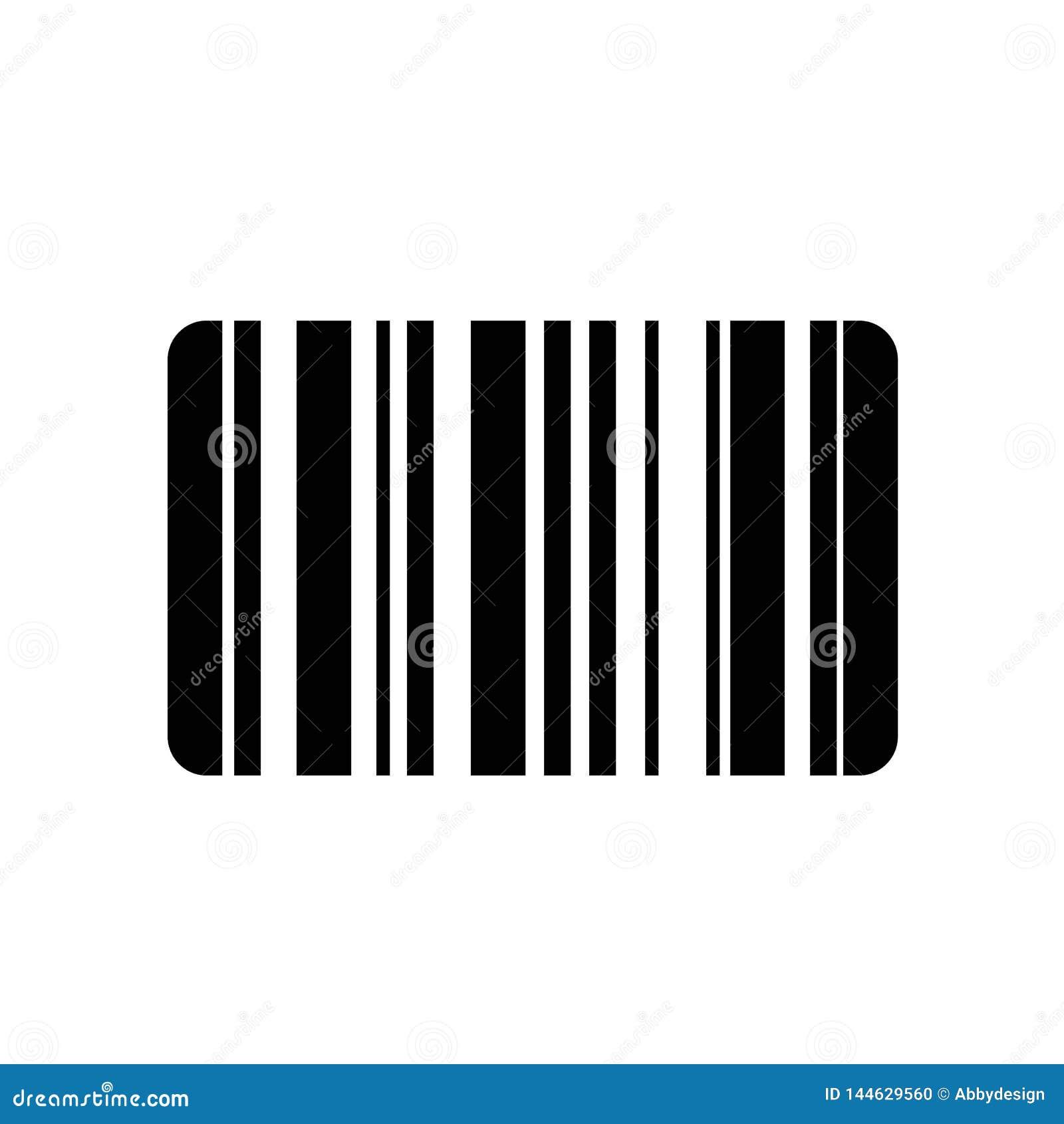 Barcodeikonenvektor