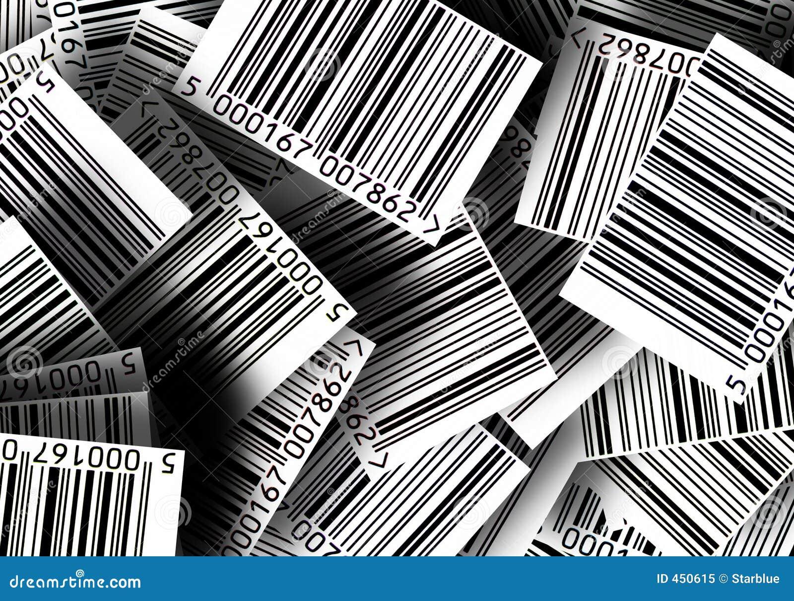 Barcodes background