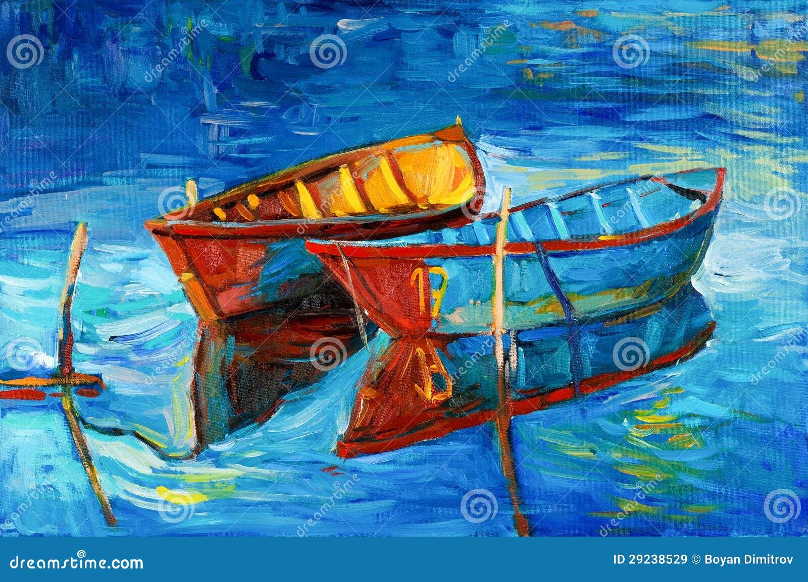 Download Barcos ilustração stock. Ilustração de nave, backdrop - 29238529