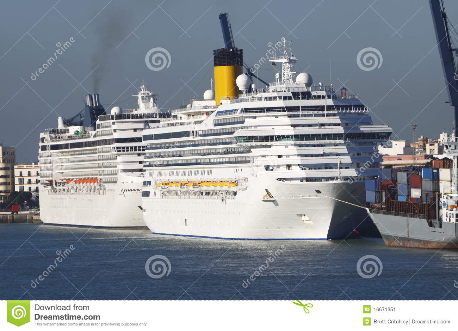 Barcos de cruceros