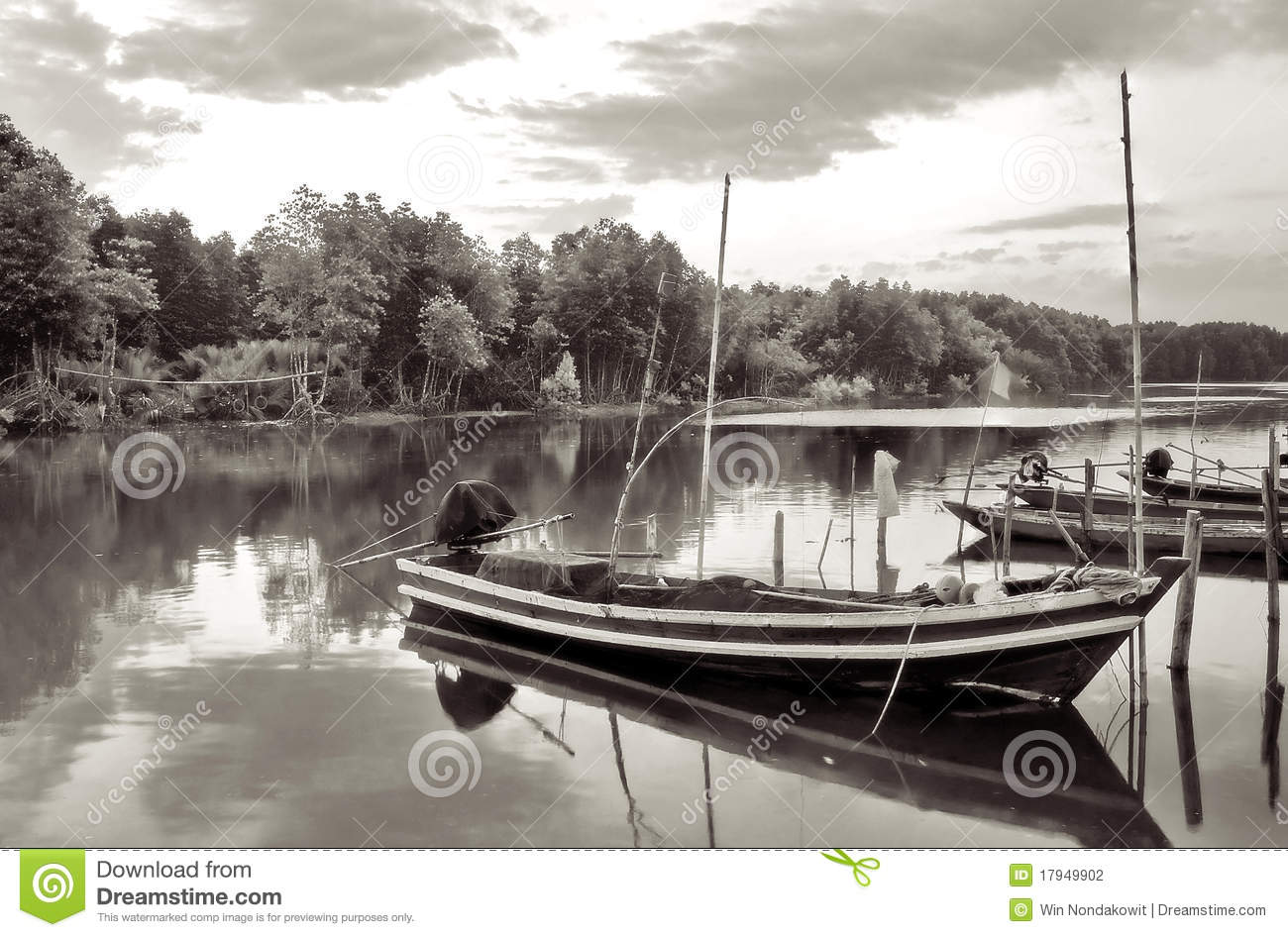 Barcos no canal