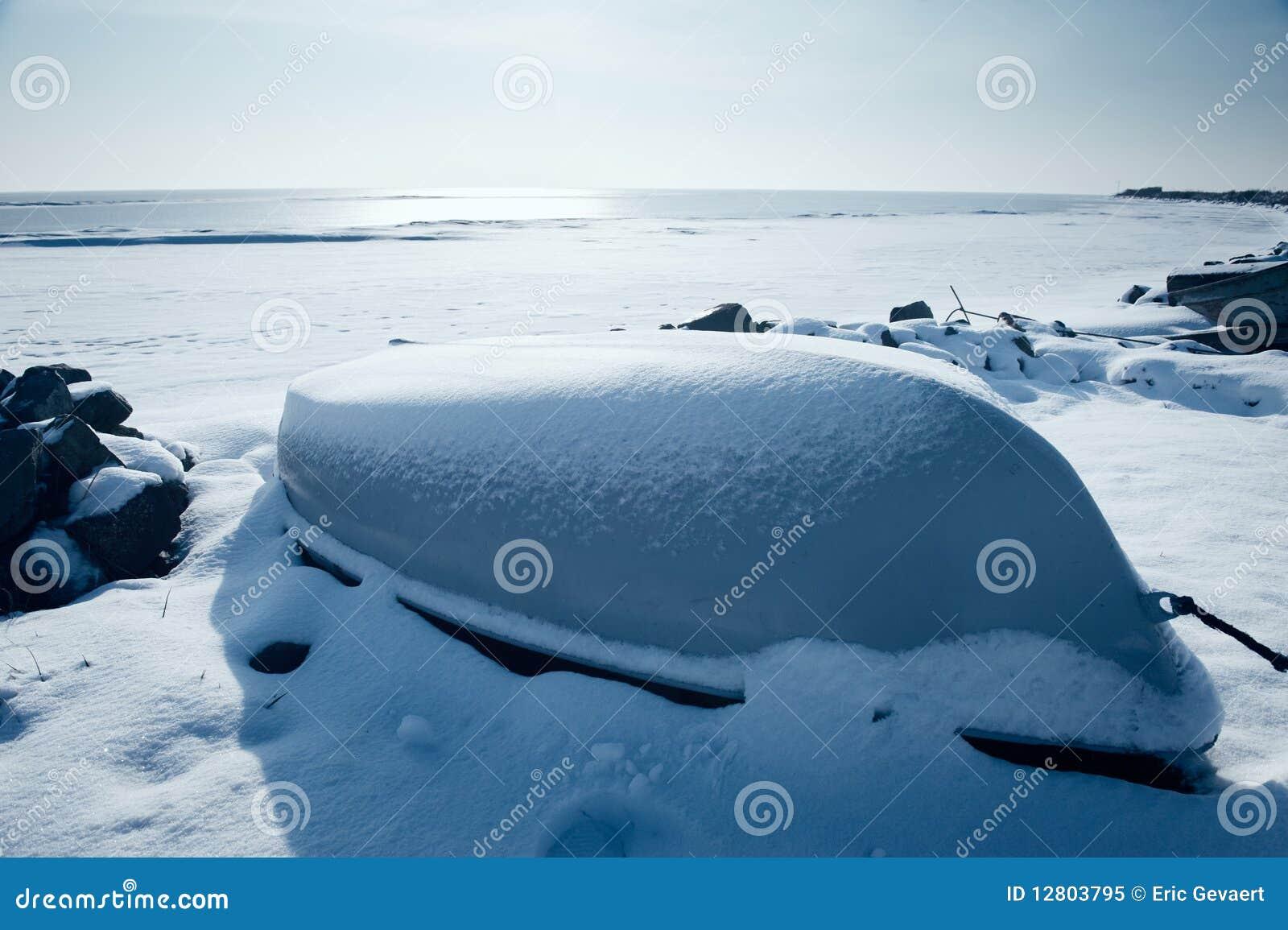 Barcos no inverno