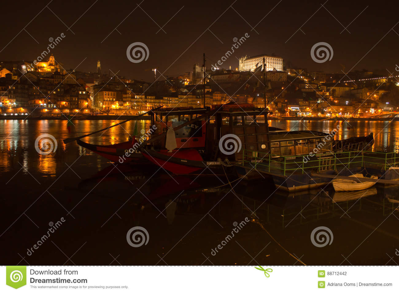 Barcos rabelos in the Douro river