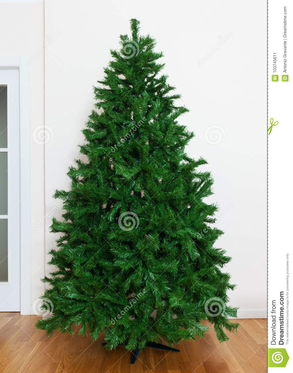 Artificial Christmas Tree Branches.Bare Artificial Christmas Tree Stock Image Image Of
