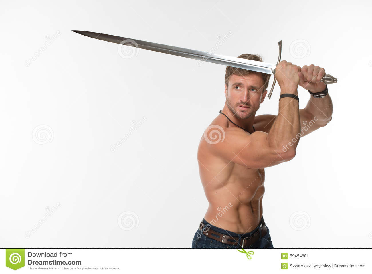Guys with swords
