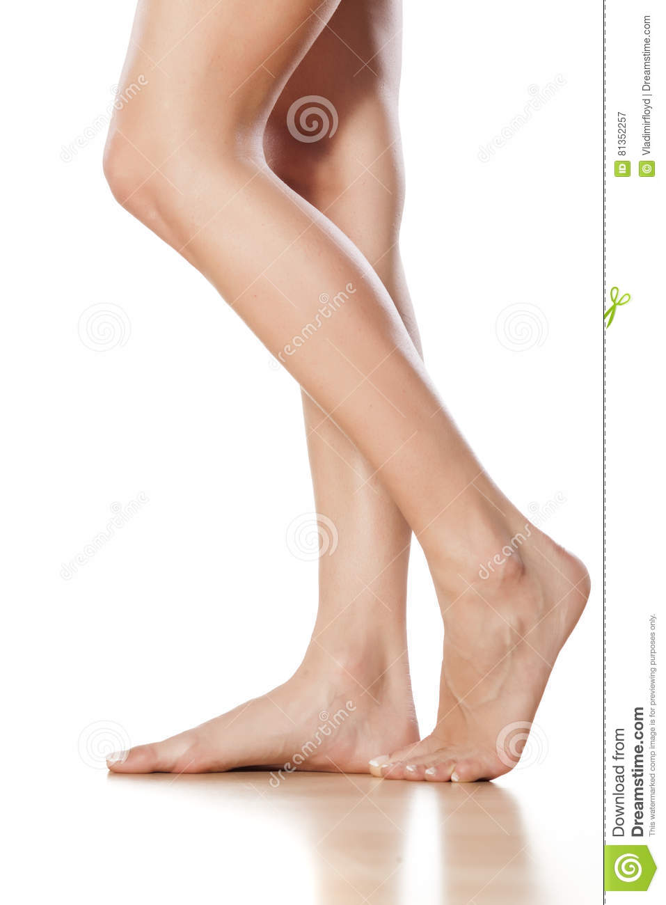 Bare Female Legs And Feet Stock Image Image Of Girl 81352257
