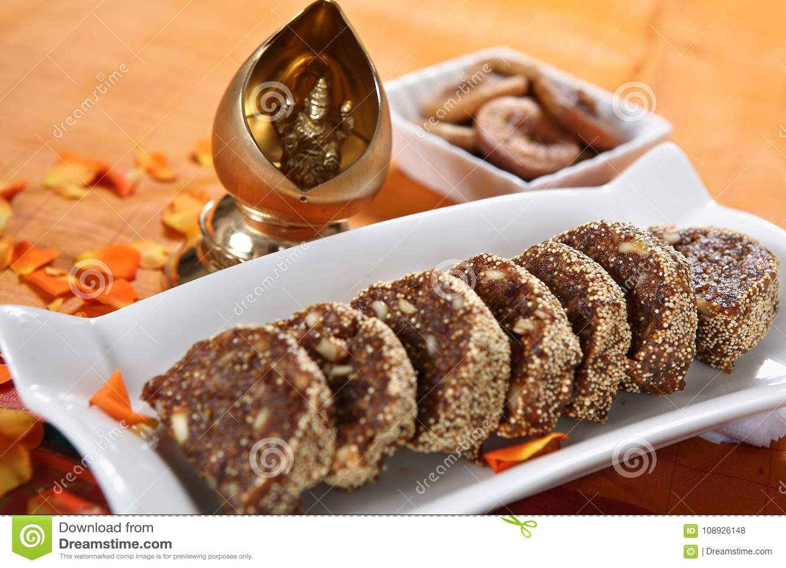 Barfi de la figue barfi/Anjeer