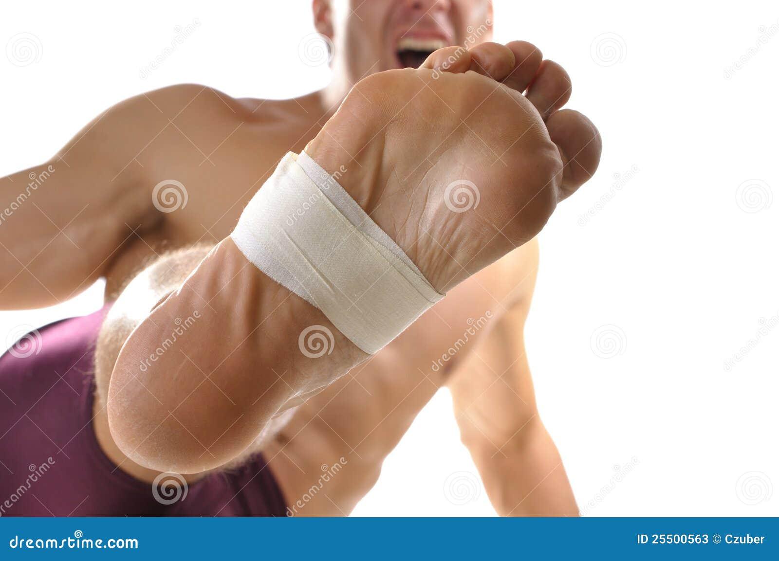 Barfota kick