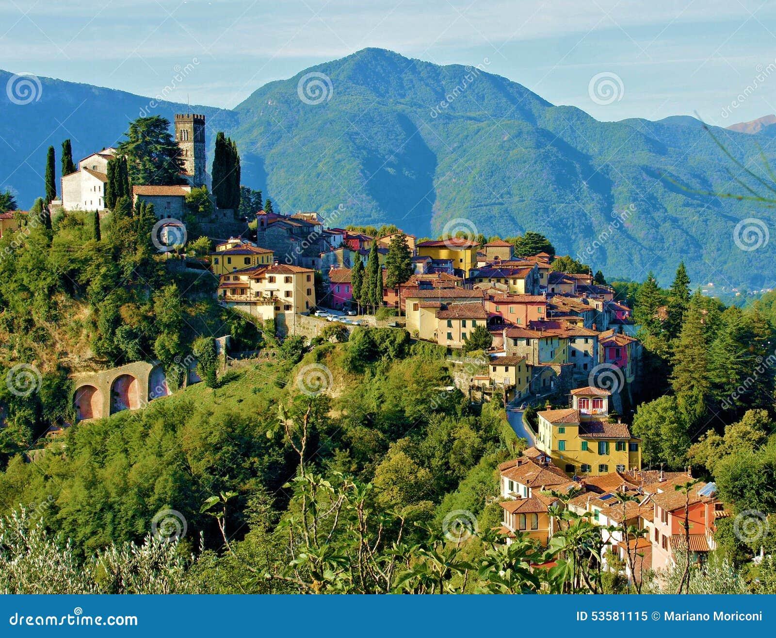 Barga Lucca Toskana Italien