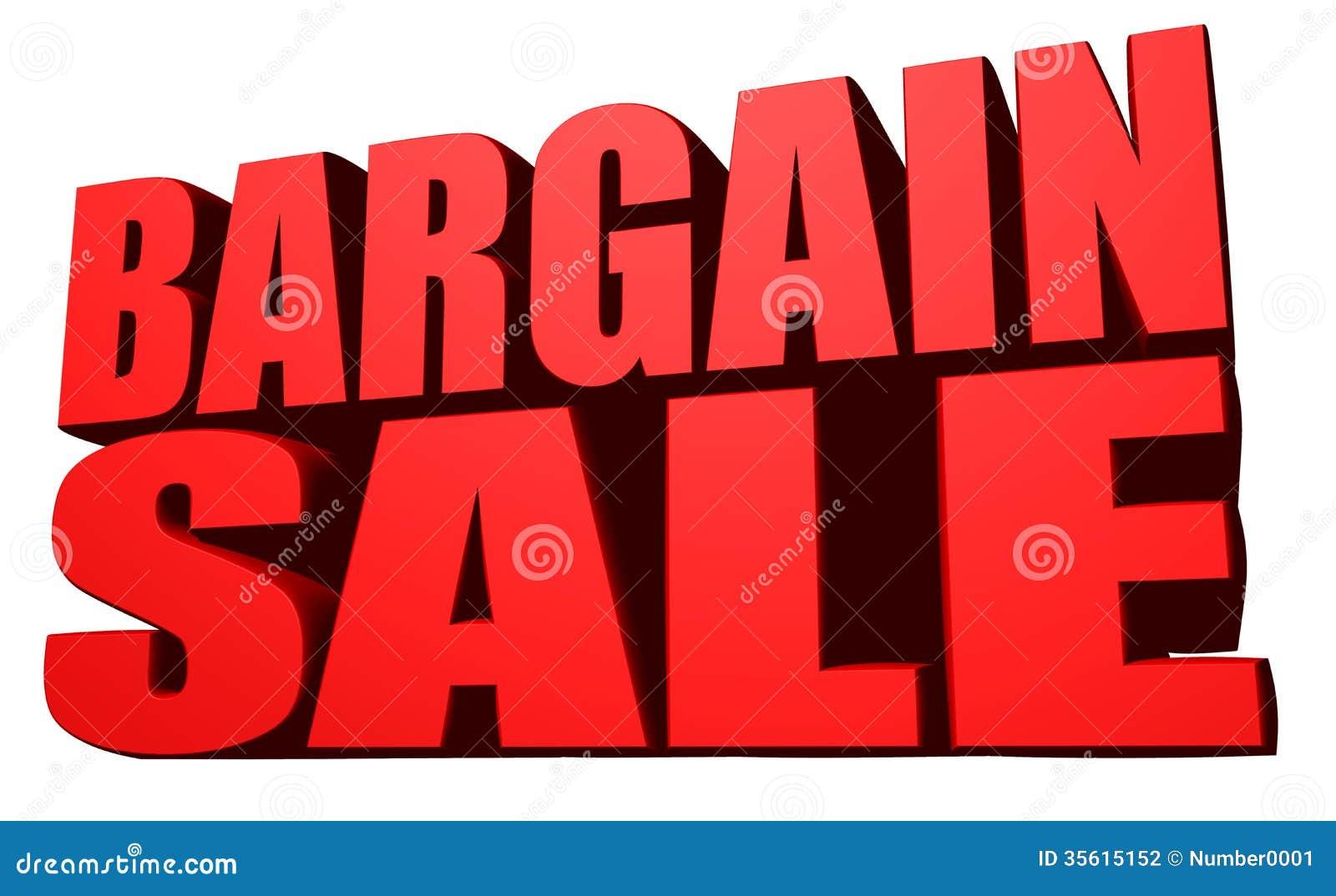 Bargain Sale Stock Photography Image 35615152