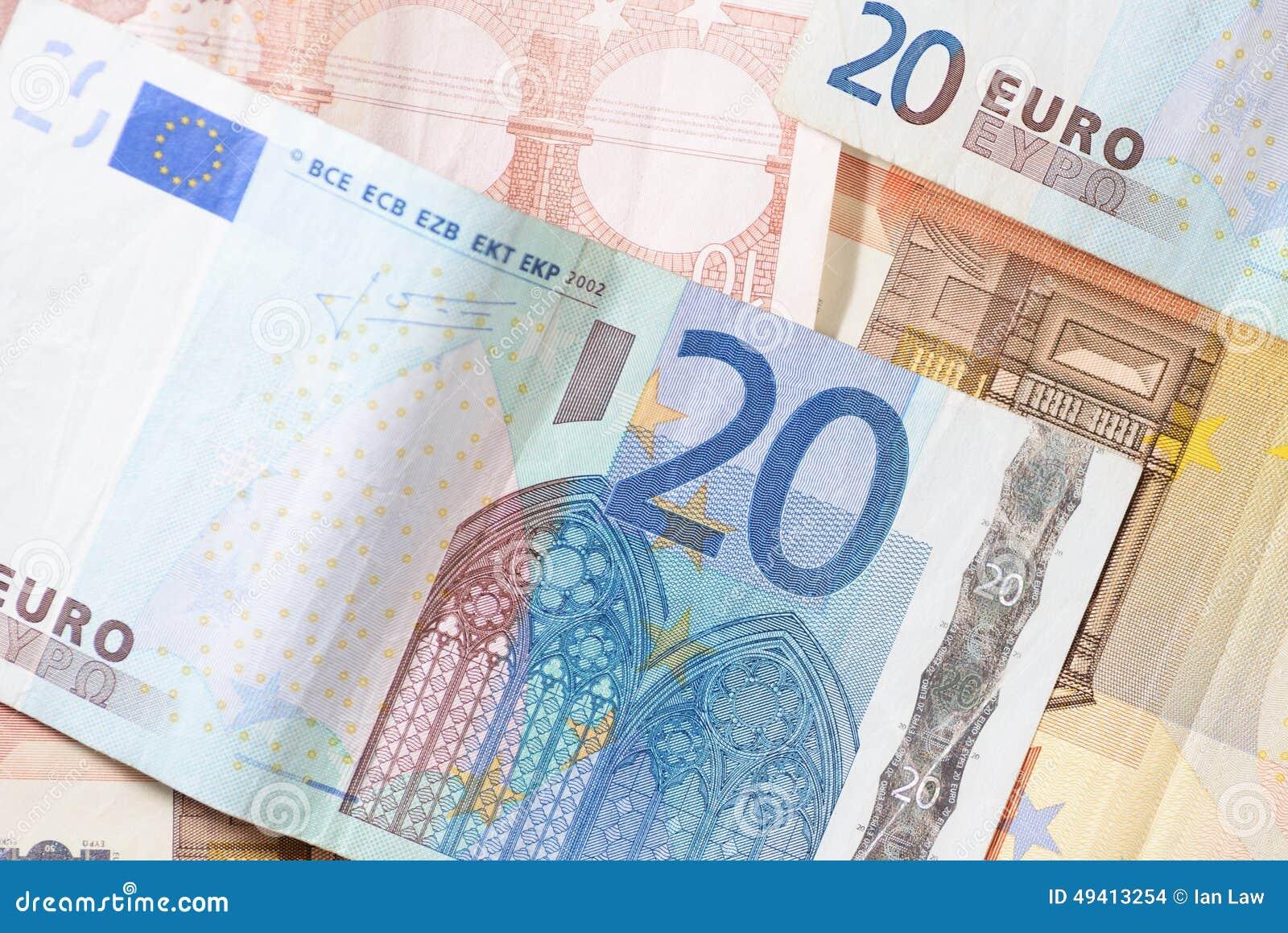 Download Bargeld stockfoto. Bild von hintergrund, europäisch, gutschrift - 49413254