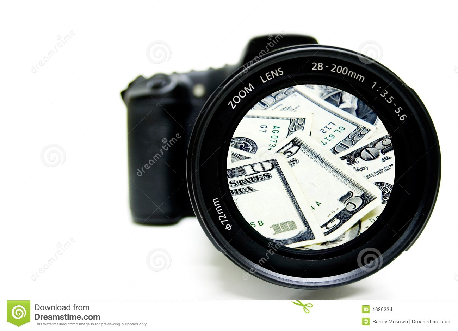 Bargeld-Fotographie