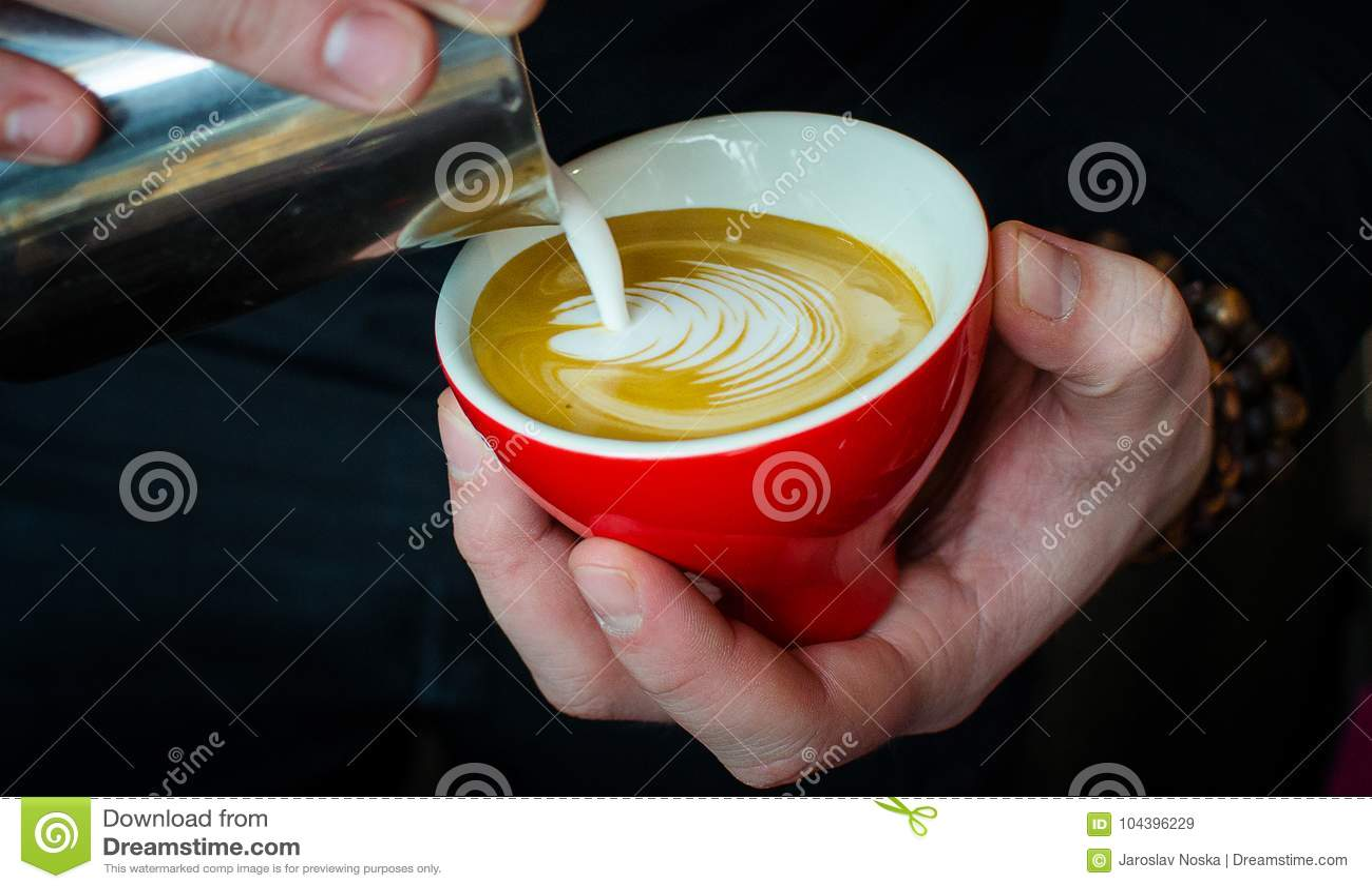 Barista Coffee Brewing
