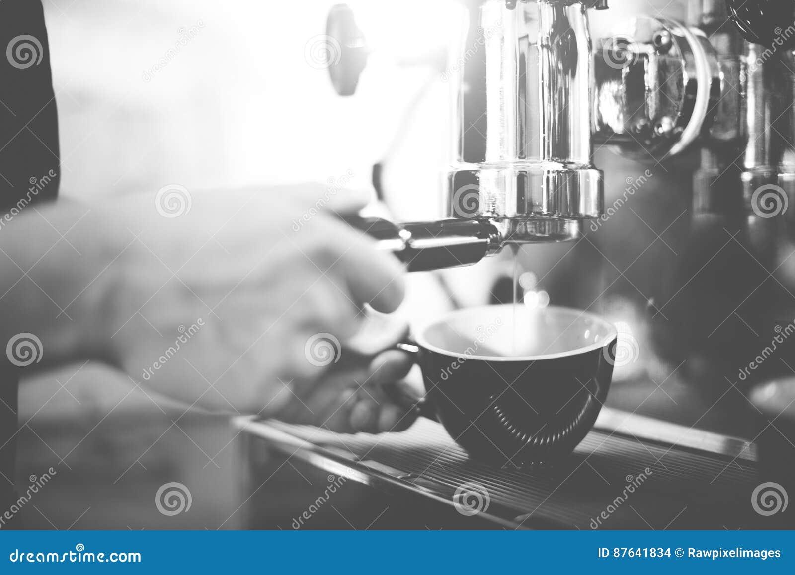 Barista Coffee Maker Machine molar Portafilter Concept