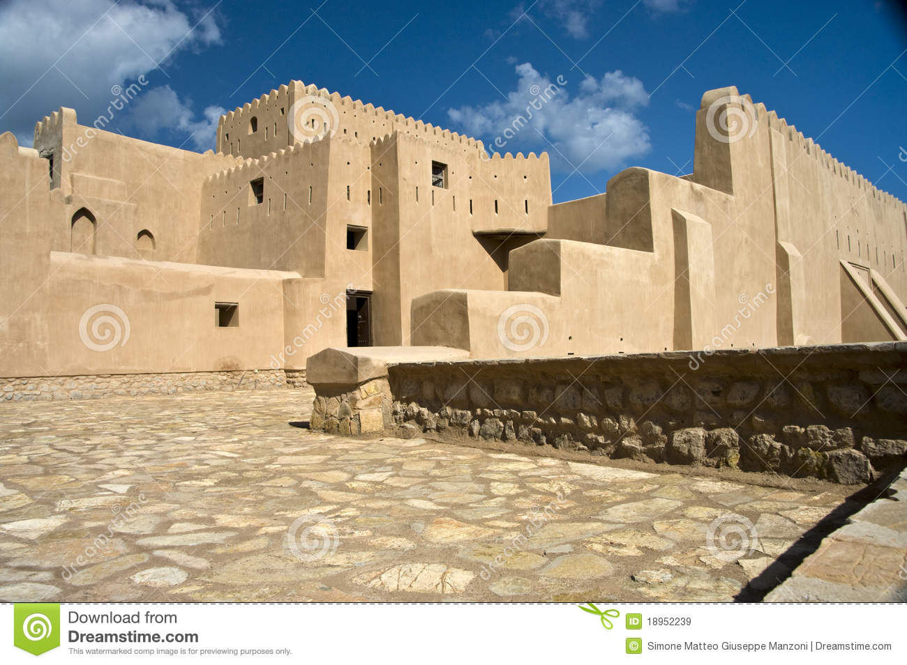 Barka Oman  City new picture : Historic fort of Barka, Oman.